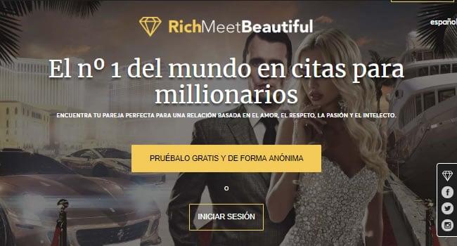 Rich Meet Beautiful una web de alto nivel